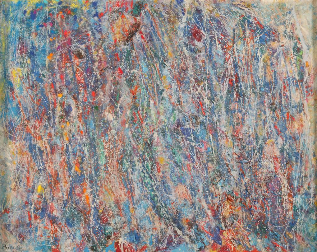 1980 - Hommage à Claude Monet -162x130