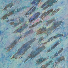 1990 - Les écorces bleues - 55x72