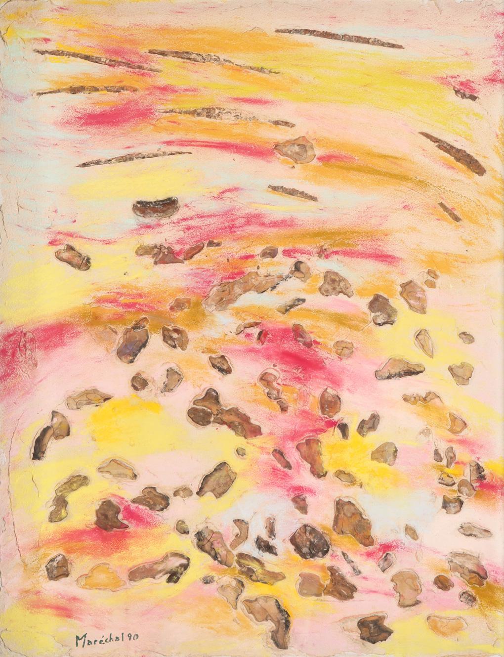 1990 - Les écorces jaunes - 78x94