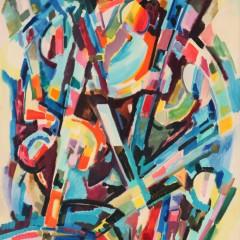 1957 - Les balançoires - 138x100